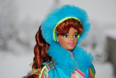Ski Queen Midge (Michel & his dolls) Tags: pinkbox vintagebarbie malibubarbie fashionistasbarbie skifunmidge cutiefashionistas