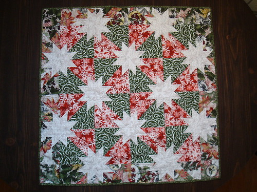 Hunter's star Xmas quilts 8