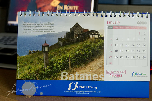 Batanes on PrimeDrug 2010 Calendar