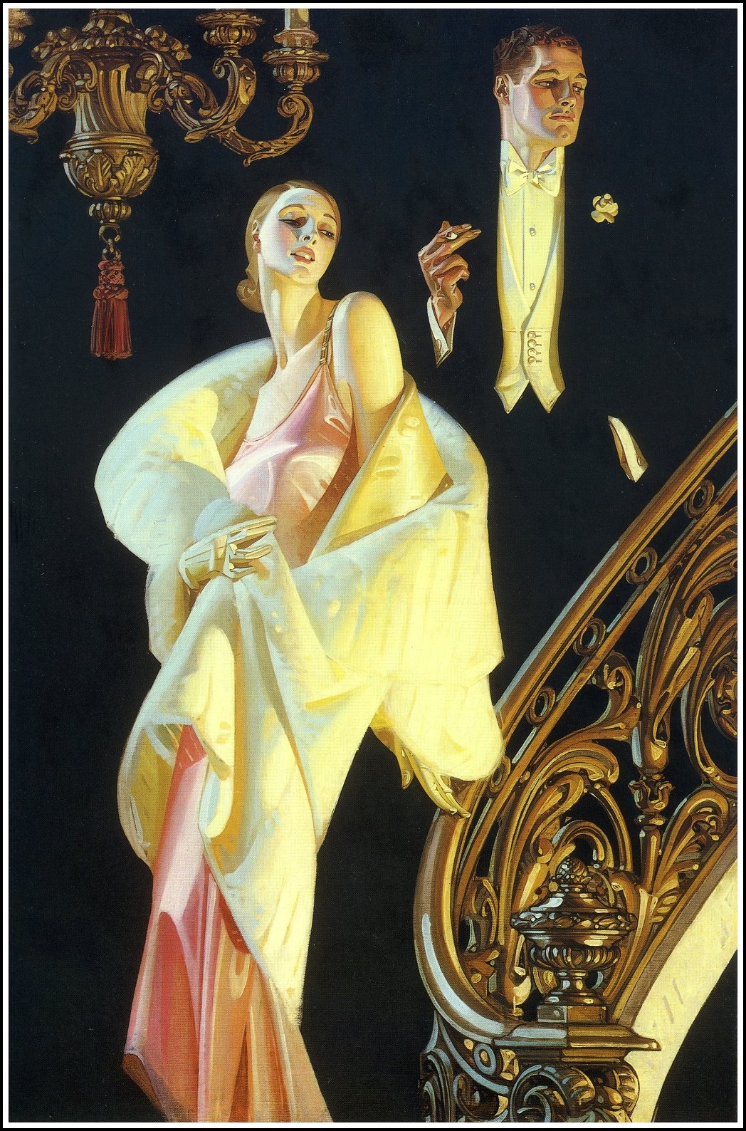 the illustration of the society in the 1920s in the great gatsby Society is on the brink of great upheavals as the  the 1920s in america was a time of great  desire in the great gatsby is enhanced by references to.