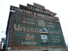 Clarksville, TN Uneeda Biscuit painted sign (army.arch) Tags: sign downtown tn furniture tennessee historic faded clarksville historicpreservation uneedabiscuit ghostsign historicdistrict undertaker paintedsign wallsign nationalregister nrhp