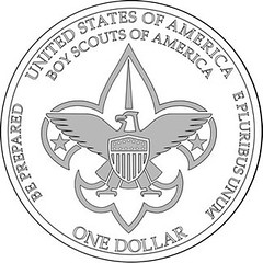 BSA-Centennial-Commemorative-Silver-Dollar-Reverse-Design