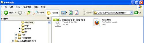 MooTools 1.3