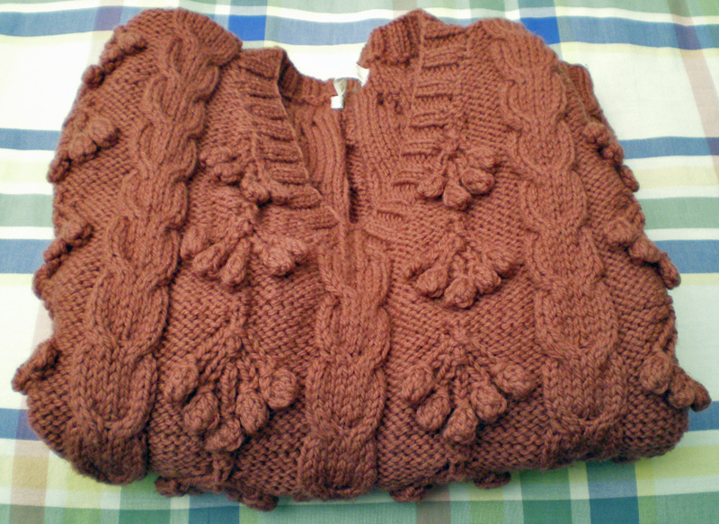 old rose Magpie vest