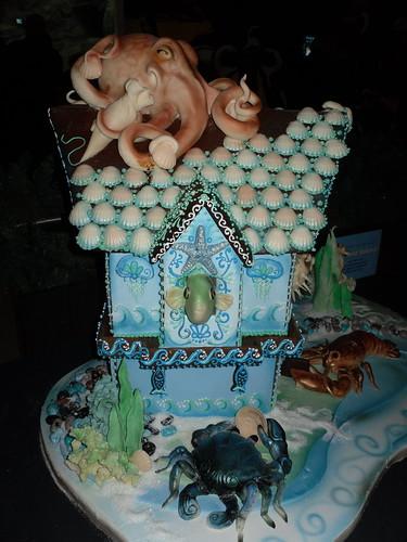 Undersea Gingerbread House