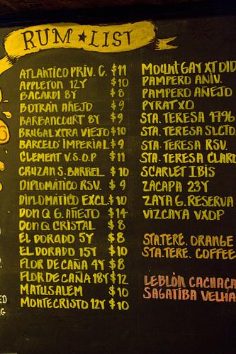 Rum List