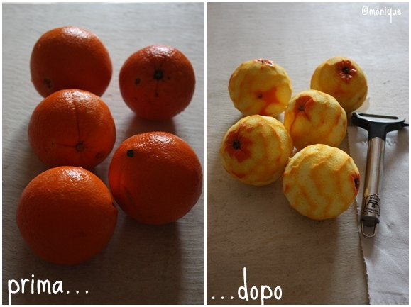 collage arancia
