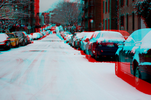 Anagylph: NYC: Queens