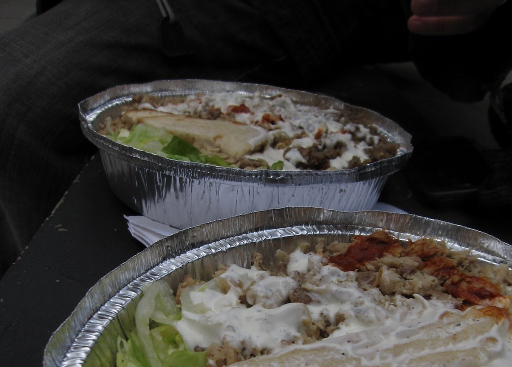 halal guys mixed plate