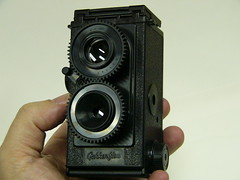 Gakkenflex 35mm TLR