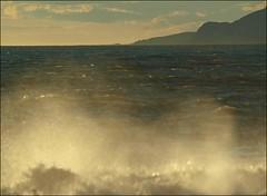 (Rafael Montes) Tags: blue sea espaa costa beach la mar spain focus mediterraneo playa paisaje olympus andalucia tele mf manual montaa tamron olas cala ola rovers rov 80210mm e520 rabita 220posse