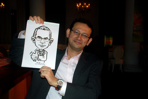 Caricature live sketching for GSK -15