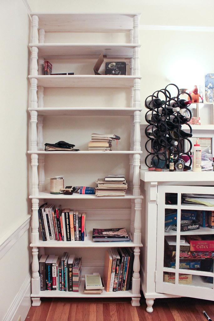 Table Leg Bookcase