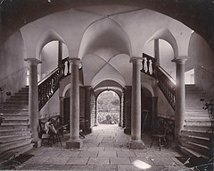 Årsta Castle, Södermanland, Sweden (Swedish National Heritage Board) Tags: castle architecture stairs arch stockholm interior great symmetry staircase column haninge expectations årsta 1890s albumen österhaninge riksantikvarieämbetet theswedishnationalheritageboard castlesmansionsruins commonsbest