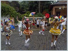 Passistas do bloco Pitombeira dos Quatro Cantos. Foto: Chico Santiago/Pref.Olinda