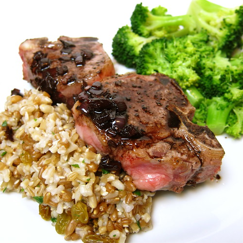 Lamb with Balsamic Sauce