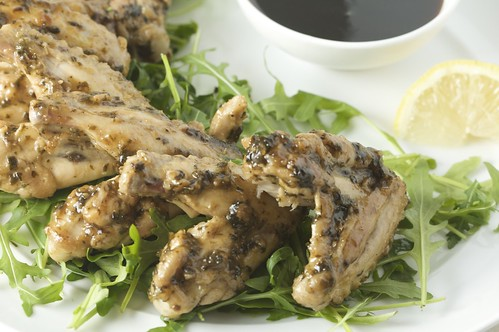 Lebanese-Style Chicken Wings