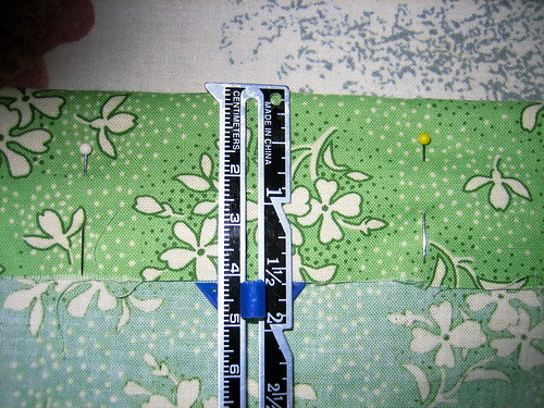 Elastic Waistband with Casing--measuring waistband casing