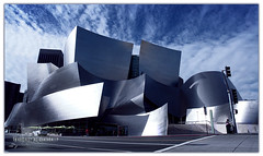 Disney Concert Hall ... (Bally AlGharabally) Tags: california winter usa los photographer angeles designer january rai kuwaiti 2010 bally     gharabally algharabally