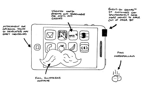 EXCLUSIVE Apple Tablet blueprint