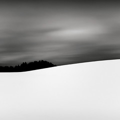 #2 (p i c a) Tags: longexposure sky snow tree sweden stockholm hill pinetrees skogskyrkogrden ndfilter bwnd110