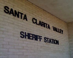 Santa Clarita Sheriff Station Sign