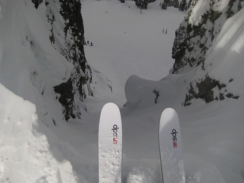 "Dropping in to ""once is enough"" at Kirkwood Meadows"