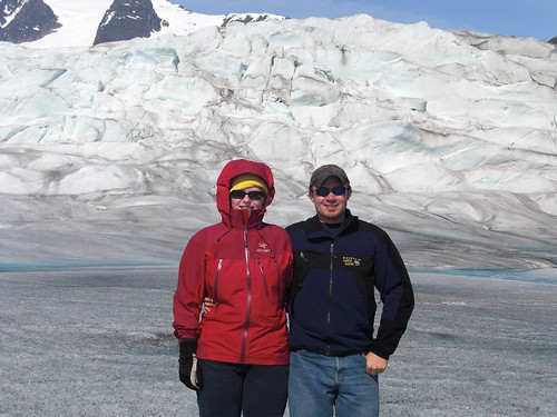 Us on the glacier!