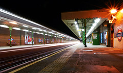 (Luke_Williams) Tags: pictures light london station speed underground nikon williams luke central line trail recent barking d60 fairlop