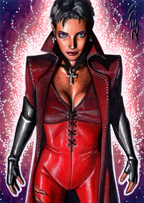 Scarlet Witch - X-Men Evolution Sketch Card | Flickr - Photo Sharing!