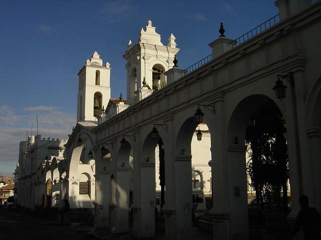 Arcos de la Plaza de San Francisco, Sucre