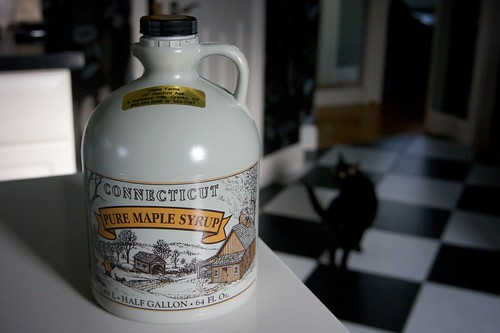 maple syrup from my father in law