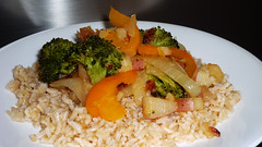 Sauteed Vegetables Over Rice (Renaissance.Life) Tags: wholesome flavorful satisfying