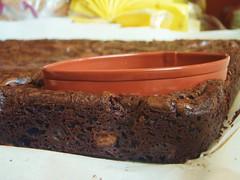 ina garten - outrageous brownies - football shaped (super bowl) - 13