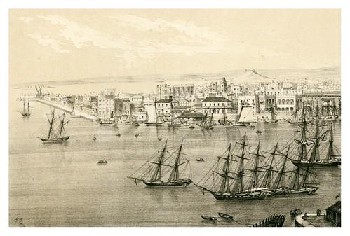 004- La Habana desde Casa-Blanca-Álbum pintoresco de la Isla de Cuba- 1853