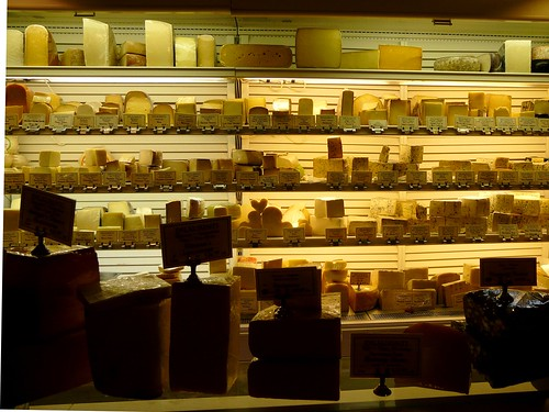 The Great Wall of Cheese