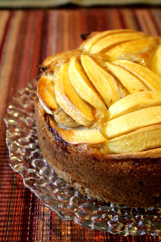Microbiotic apple cake 001