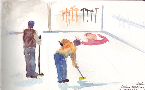 Curling experience 1