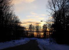 a good day (dmixo6) Tags: winter sky snow ontario canada abstract ice rock march muskoka 2010 canadianshield dugg dmixo6