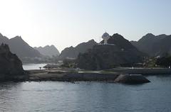 Muscat morning (Gerry Hill) Tags: cruise sunrise harbor persian gulf harbour coastal oman muscat patrol seas brilliance