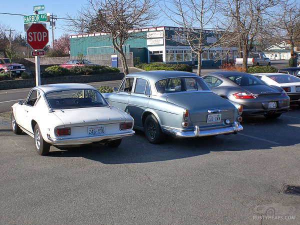 Lotus, Volvo, Porsche