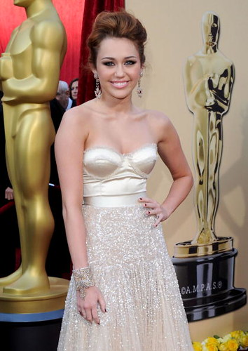 Singer - actress Miley Cyrus