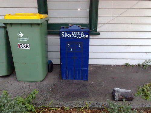 Very small TARDIS, Footscray