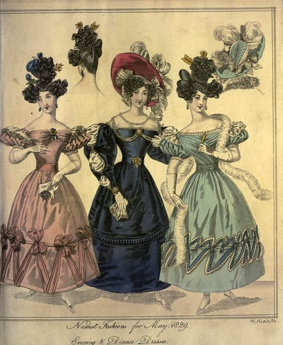 008-The World of fashion and continental feuilletons 1829