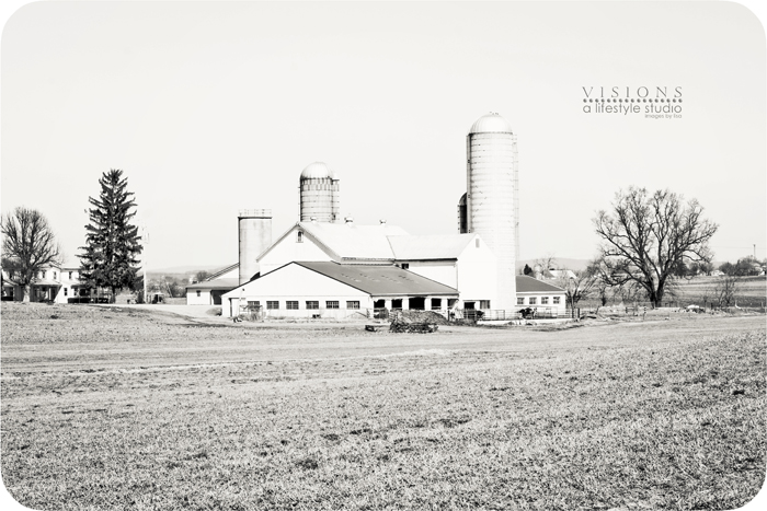 Barn and Silo BW WM
