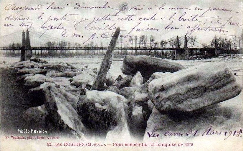 banquise dans le Maine et Loire pendant l'hiver 1879 1880
