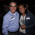 James Pena (COL '88) and Yvonne Montoya (COL '04)