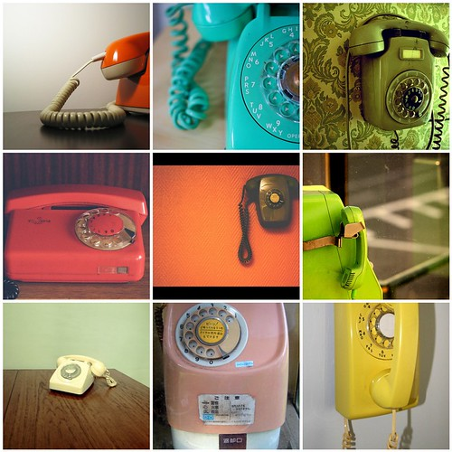 A Telephone in Every Colour