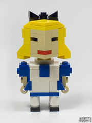 Lego Alice in Wonderland Through the Looking Glass