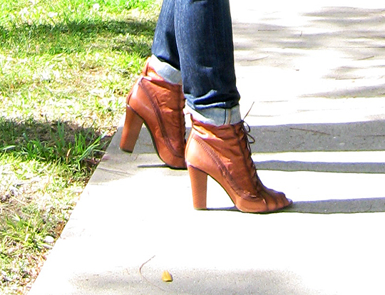sam edelman lace up boots saddle tan booties